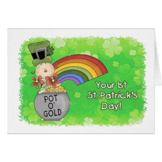 Baby 1st St. Patricks Day Card