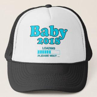 Baby 2018 Is Loading Please WAIT pregnancy Trucker Hat