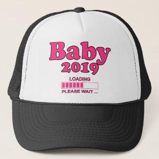 Baby 2019 Is Loading Please WAIT pregnancy Trucker Hat