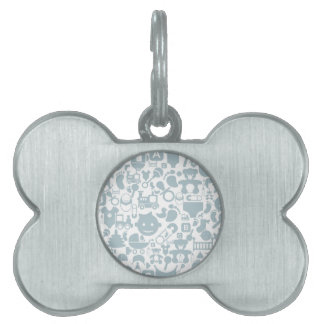 Baby a background2 pet name tag