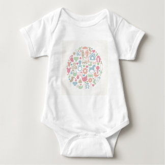 Baby a sphere baby bodysuit