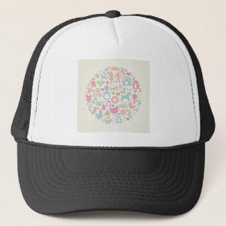 Baby a sphere trucker hat