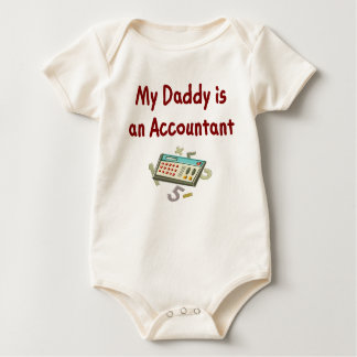 Baby Accountant t-shirts and