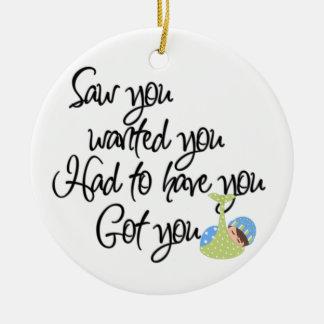 Baby Adoption - SRF Ceramic Ornament