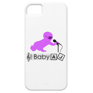 Baby AJ Rock Star Phone case Barely There iPhone 5 Case