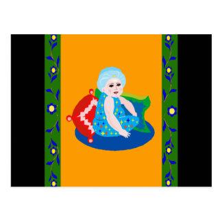 Baby Aladdin Postcard