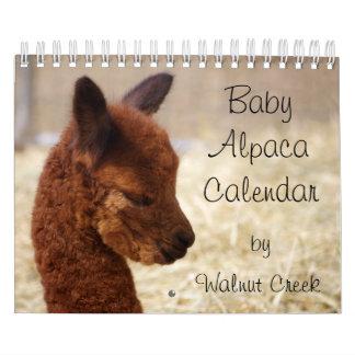 Baby Alpaca Calendar 2017