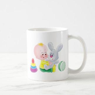 Baby and bunny mugs