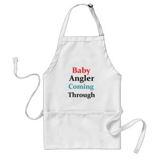 Baby Angler Coming Through Standard Apron