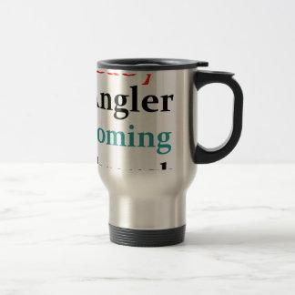 Baby Angler Coming Through Travel Mug