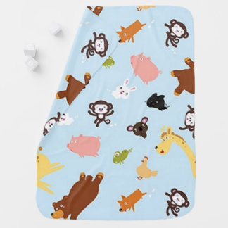 Baby Animal Friends Baby Blanket