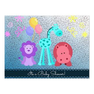 Baby Animal Shower Invite