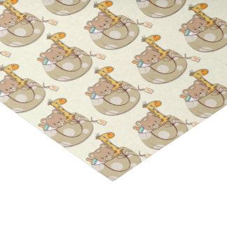 Baby Animals Baby Shower Tissue Paper
