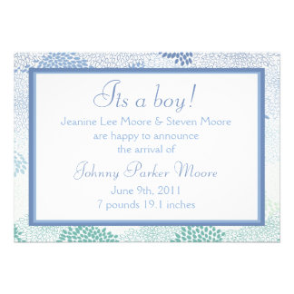 Baby announcement (Boy)!