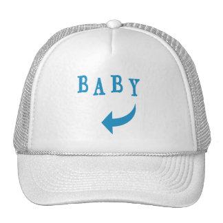Baby Arrow Blue Hats
