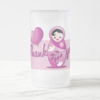 baby babushka thank you coffee mugs