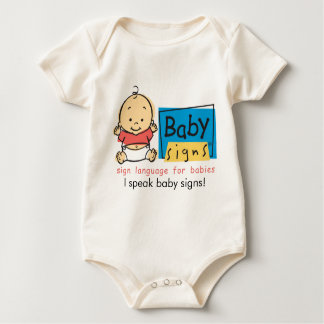 Baby Baby Outfit: I speak baby signs! Baby Bodysuit
