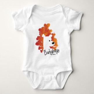 Baby Barkalounge Bones Logo Baby Bodysuit