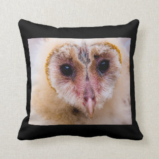Baby Barn Owl Pillow Cushion