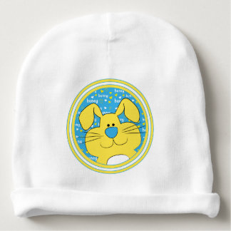 Baby Beanie Gift/Honey Bunny/Blue/Yellow