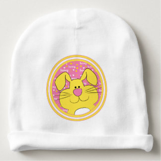 Baby Beanie Gift/Honey Bunny/Pink/Yellow