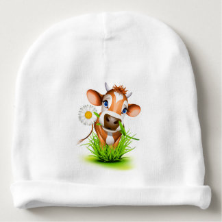 Baby Beanie Hat-Country Cow