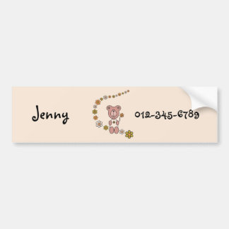Baby Bear 02 Bumper Sticker