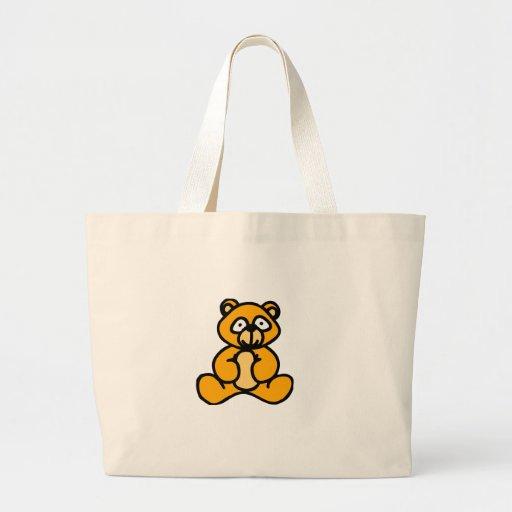 Baby bear cartoon canvas bags