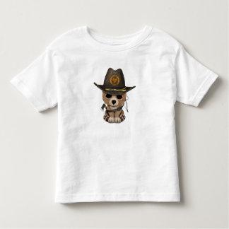 Baby Bear Cub Zombie Hunter Toddler T-Shirt