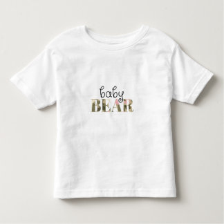 Baby Bear (girly camo) (family set) Toddler T-Shirt