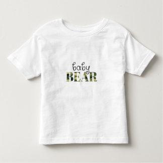 Baby Bear (green camo) (family set) Toddler T-Shirt