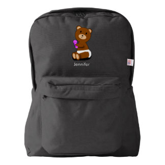 Baby Bear Personalize Backpack