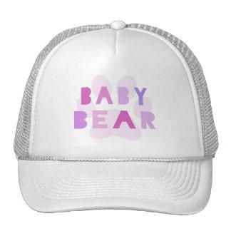 Baby bear - pink cap