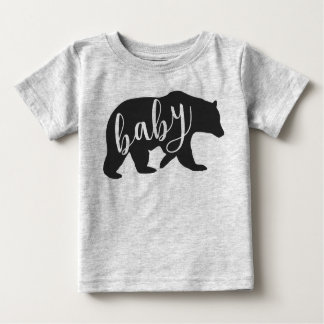 Baby Bear T-Shirt  Also Available is Mama and Papa