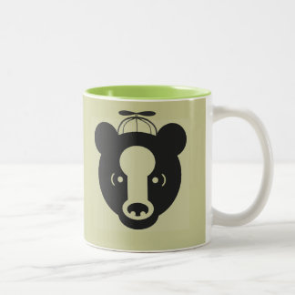 BABY BEAR Two-Tone COFFEE MUG