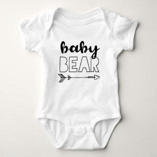 Baby Bear with Arrow Baby Bodysuit