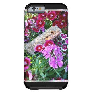Baby Bearded in Flowers Dragon iPhone Case