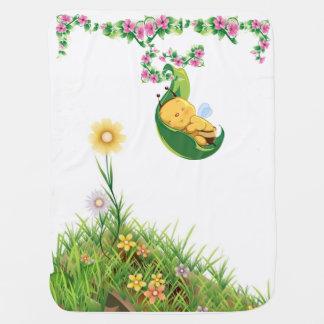 baby bee blanket