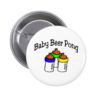 Baby Beer Pong 6 Cm Round Badge
