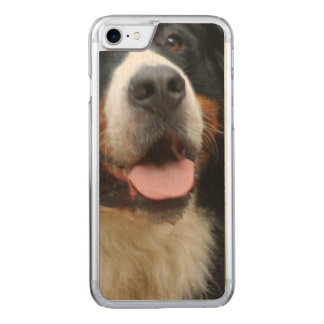Baby  Bernese Mountain Dog Carved iPhone 8/7 Case