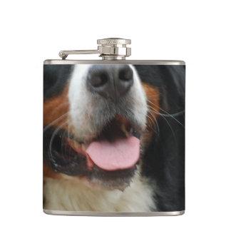 Baby Bernese Mountain Dog Hip Flask