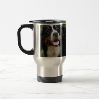 Baby Bernese Mountain Dog Travel Mug