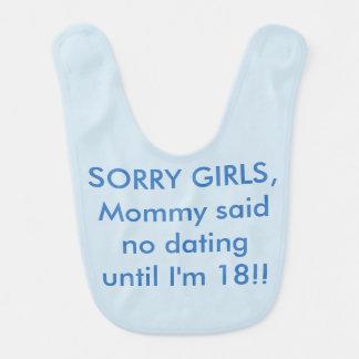 Baby Bib Funny Humor Comedy Mommy Said