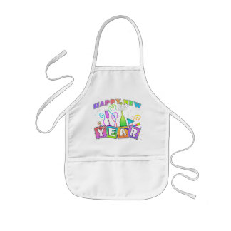 Baby Bib - HAPPY NEW YEAR Kids Apron