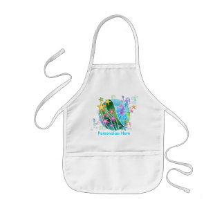 Baby Bib - Under The Sea Pop Art Kids Apron