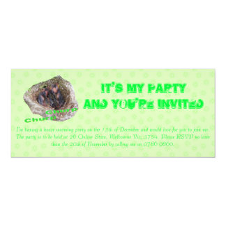 Baby Birds 10 Cm X 24 Cm Invitation Card