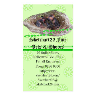 Baby Birds Business Card Template