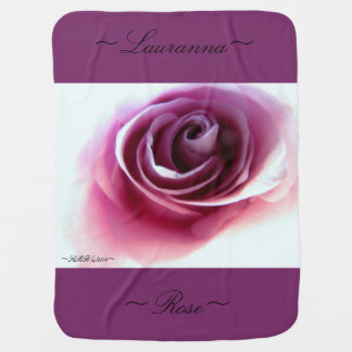 Baby Blanket (Magenta Rose Dream)