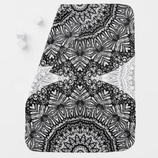 Baby Blanket Mandala Mehndi Style G444