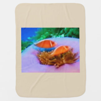 BABY BLANKET - SEA ANEMONE PROTECTION